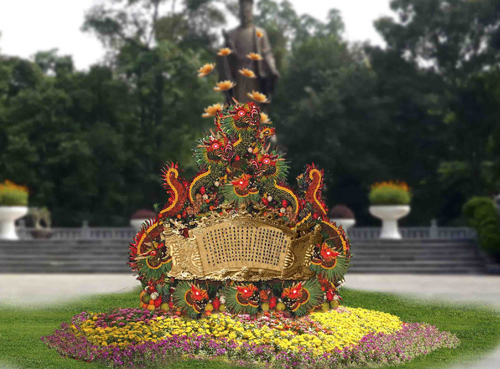 The Hanoi Flower Festival 2012 will open in the capital city of Hanoi from December 30, 2011 to January 2, 2012