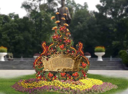 The Hanoi Flower Festival 2012 will open in the capital city of Hanoi from December 30, 2011 to January 2, 2012